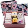 Moisturizing Gift Box(Key chain)(White pink purple Color))