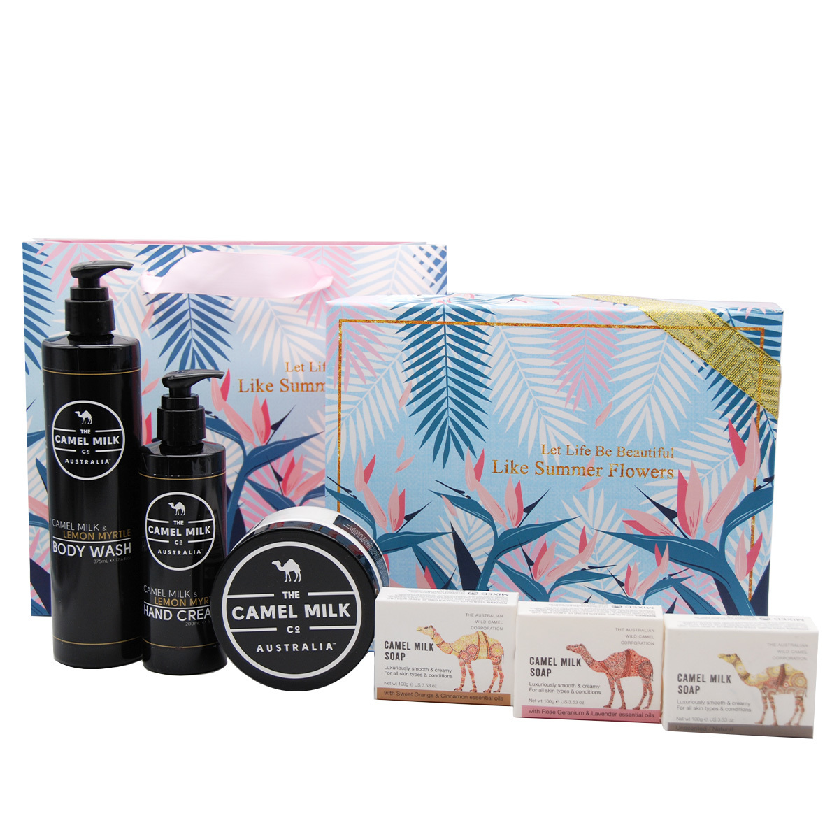 ERATO | Camel Milk Skin Care Gift BOX(Lemon Myrtle