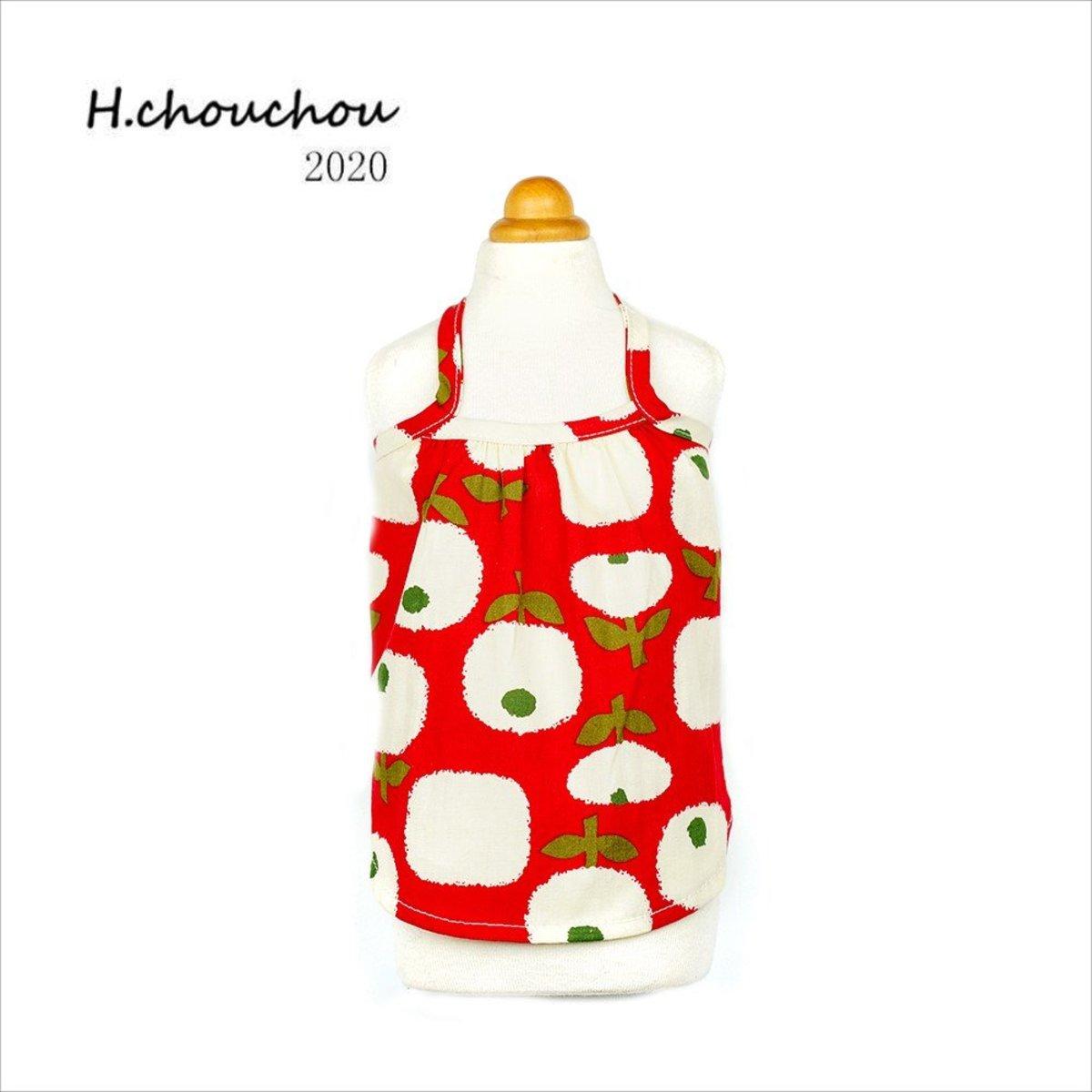 Red apple suspender skirt (Parallel Import Goods)(Size:10)