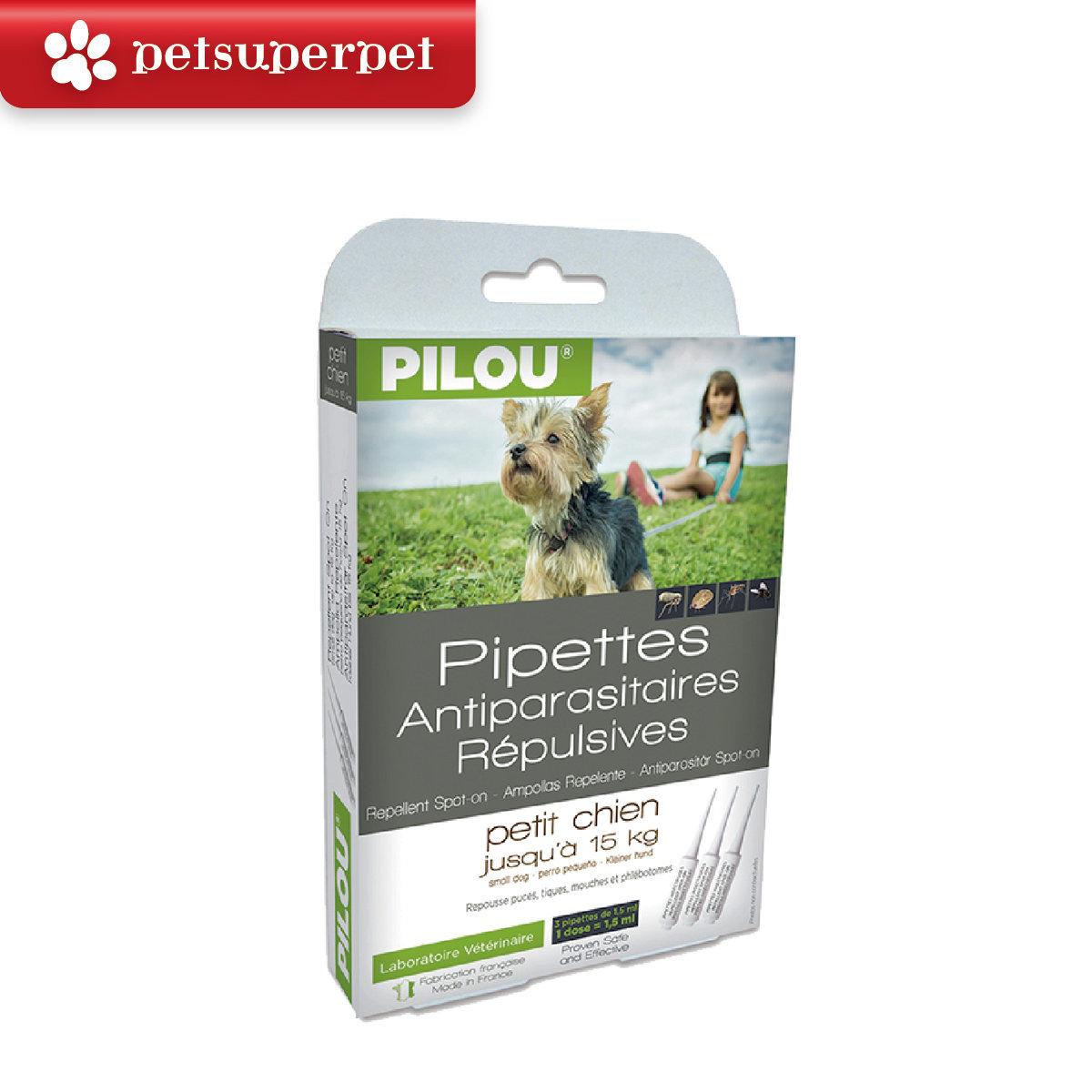 Repellent Spot-on below 15kg dogs (1.5ml X 3pcs)