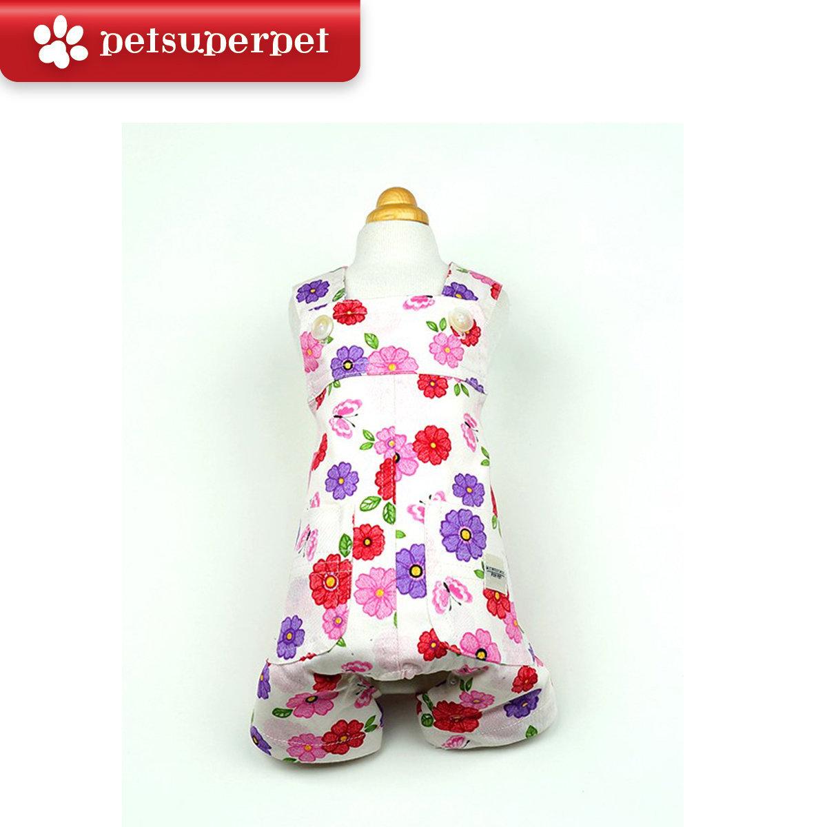 Little flower jumpsuit (parallel import goods) (Size:10)