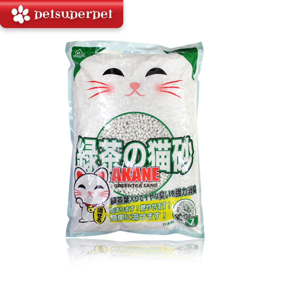 Green Tea Paper Cat Litter