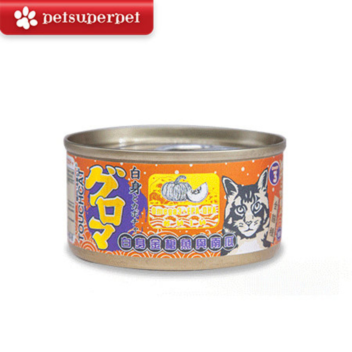 Japan Tuna & Pumpkin Cat Can (Parallel Import Goods) - 85g