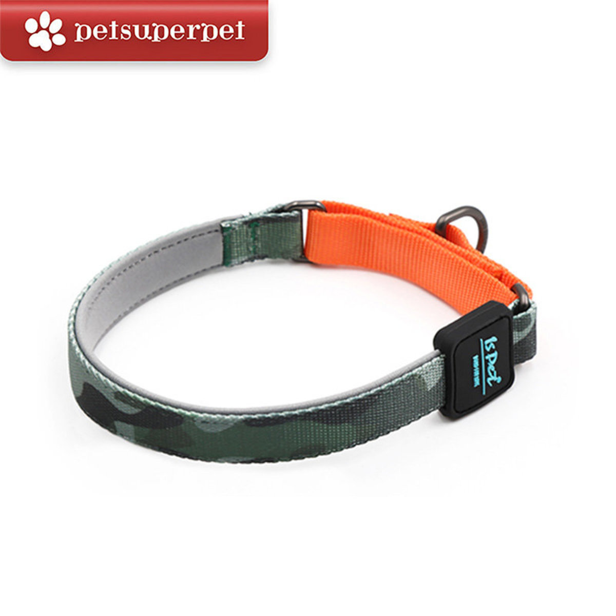 P-Chain Dog Collar - M (Army Green)