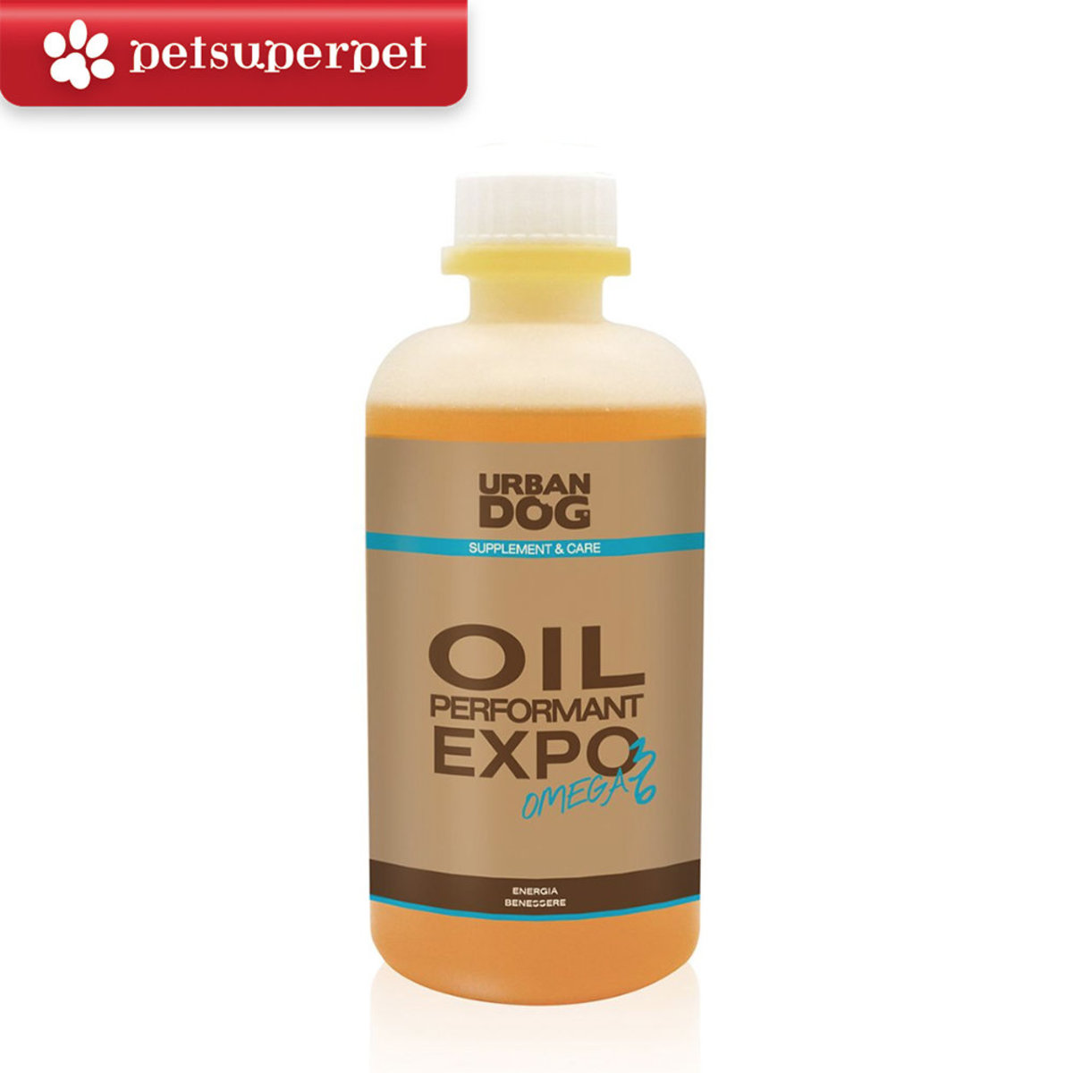 Italy Oil Performant Expo OMEGA 3 & 6 Nutritional Supplement for Dogs - 300ml