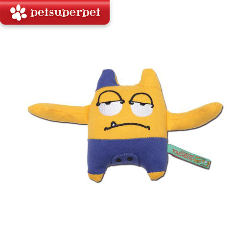 Plush Sounding Dog Toy (Little Monster Series - Sam, Yellow)