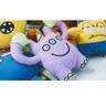發聲帆布狗玩具(小怪獸系列 - George, 紫色)