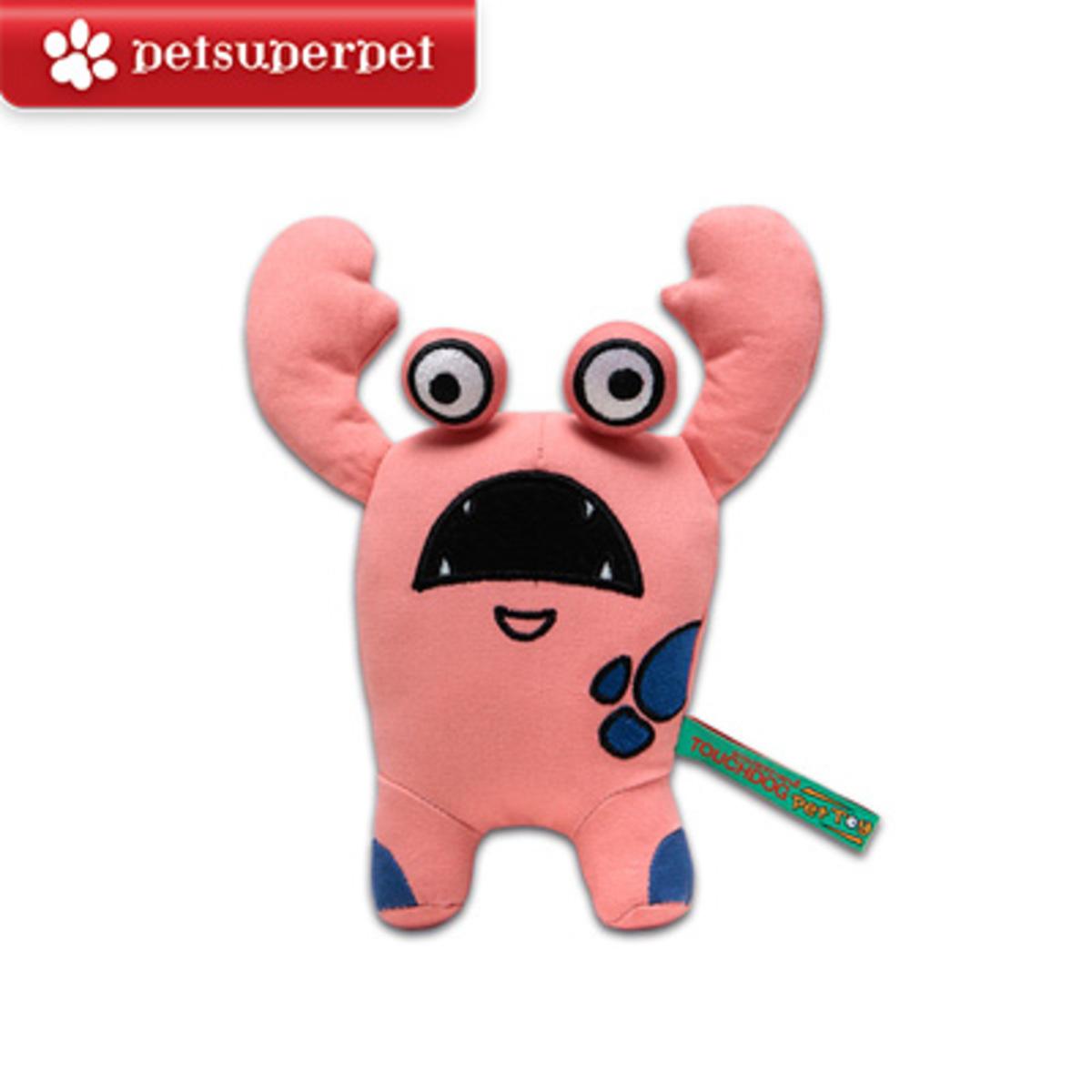 Plush Sounding Dog Toy (Little Monster Series - Mark, Pink)