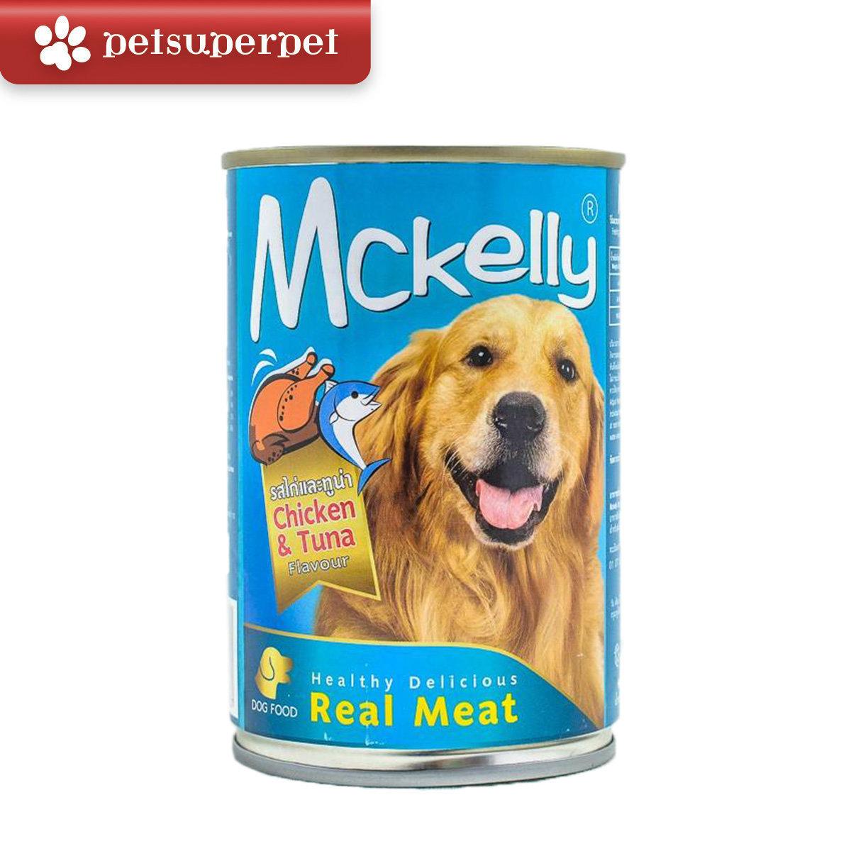 Dog Food Chicken & Tuna Flavor 400g