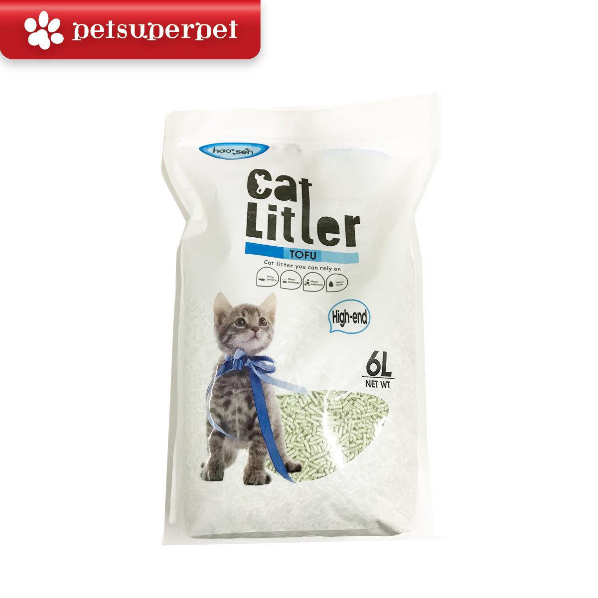 Tofu Cat Litter (Green Tea) - 6 Liter/pack