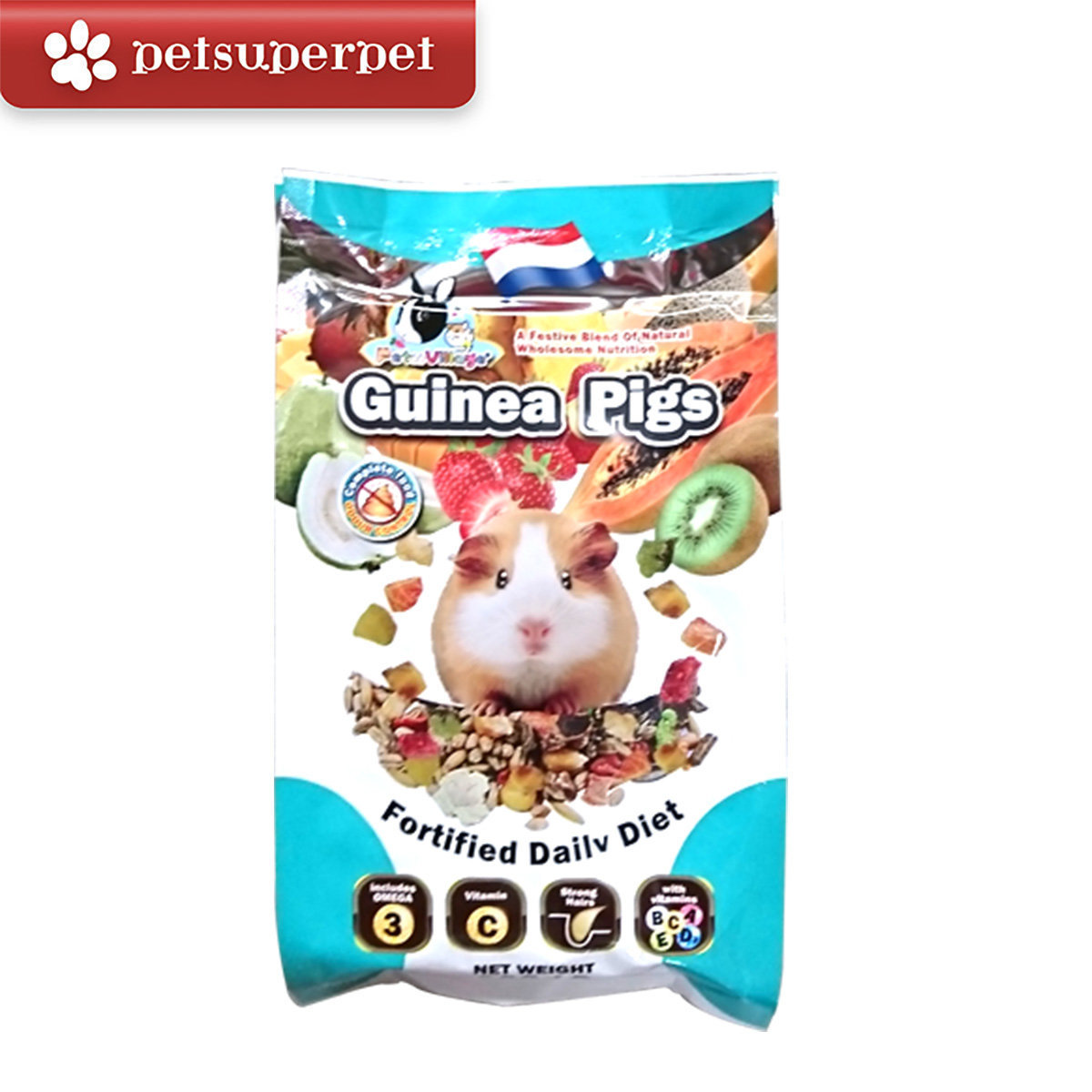 Guinea Pigs Fortified Daily Diet 800g