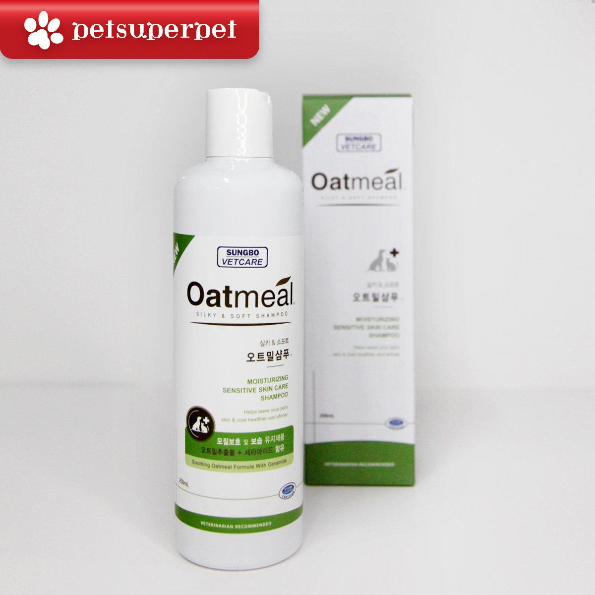 Oatmeal Silky & Soft Shampoo