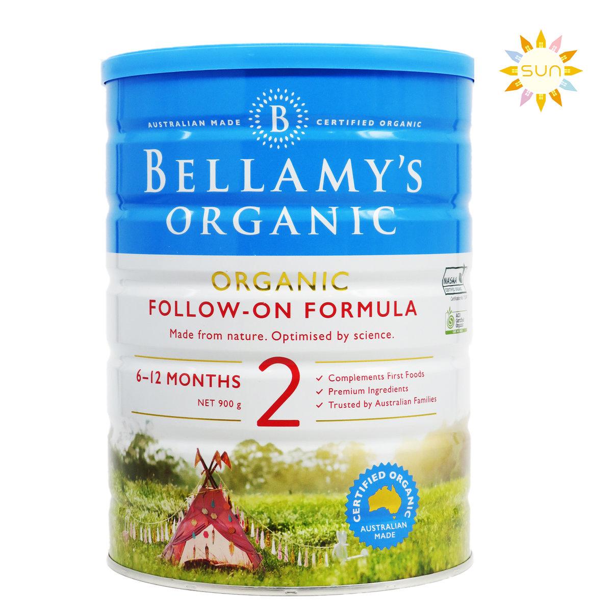 Organic Milk Powder Step 2 Follow On Formula (6-12 Months)