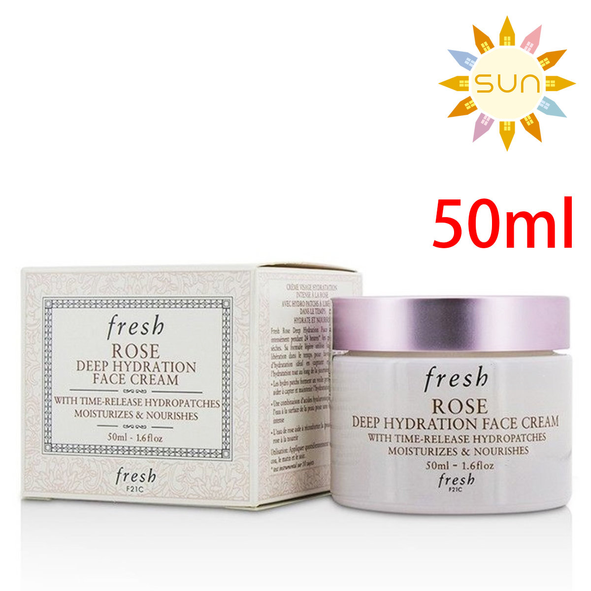 Rose Deep Hydration Face Cream 50ml