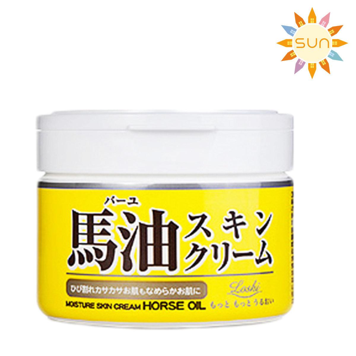 日本純天然馬油護膚霜 220g [平行進口]