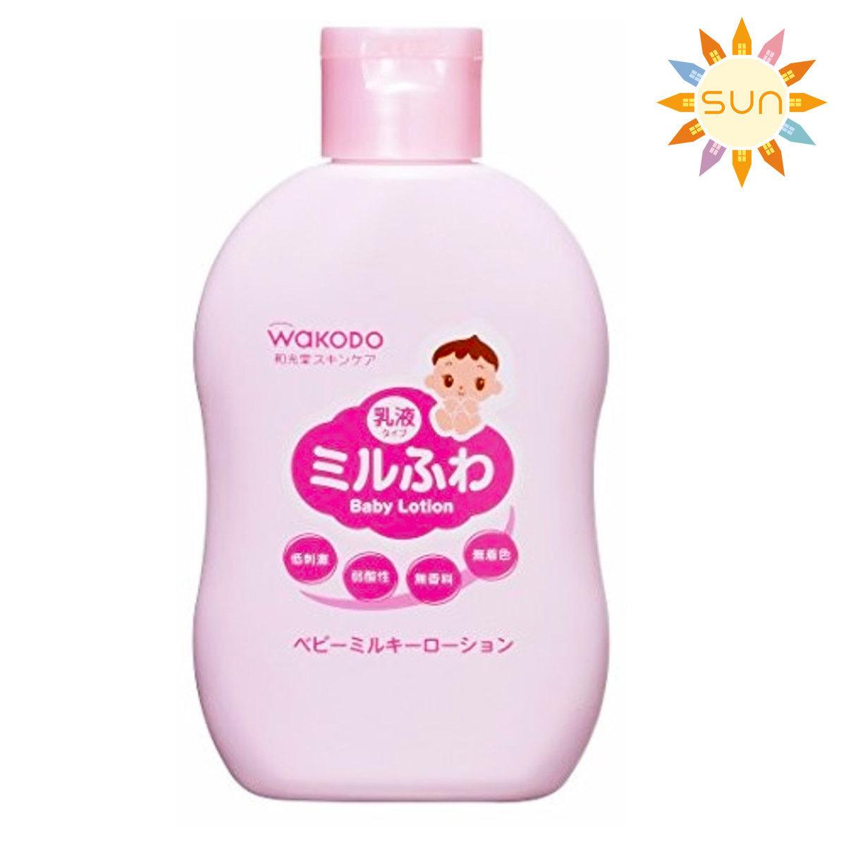 WAKODO 嬰兒保濕潤膚露 150ml [平行進口]