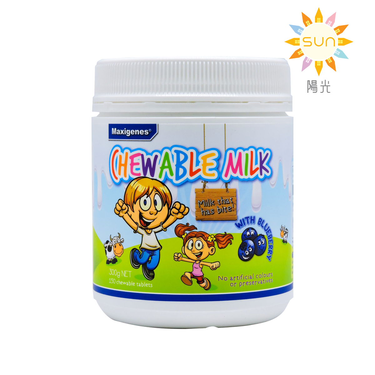 Chewable Milk with Blueberry 150 chewable Tablets