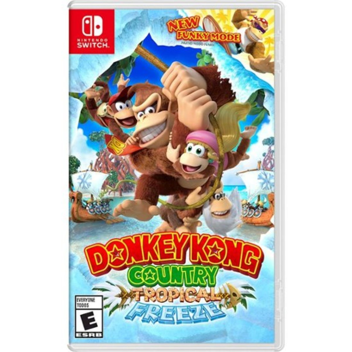 Switch Games - DONKEY KONG COUNTRY: TROPICAL FREEZE