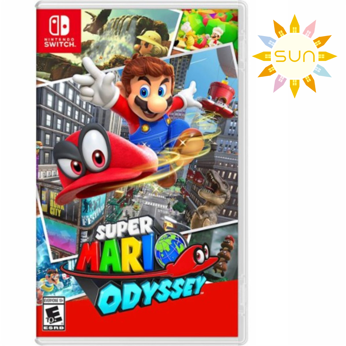 Switch Games - Super Mario Odyssey [CHI/ENG]