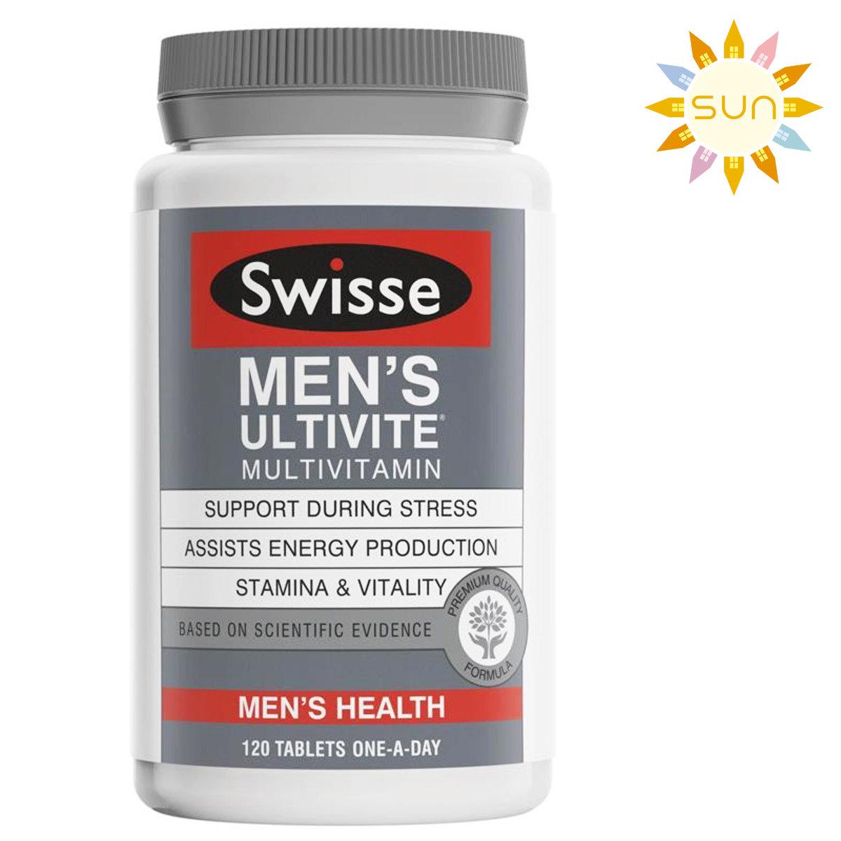 Men's Ultivite Multivitamin120 Tablets