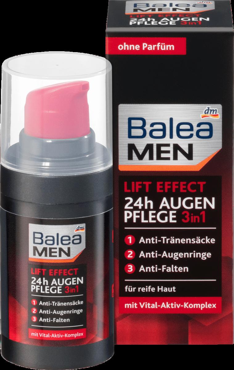 德國 Balea 芭樂雅男士 抗衰老防皺 緊緻眼霜 15ml【市集世界 - 德國市集】