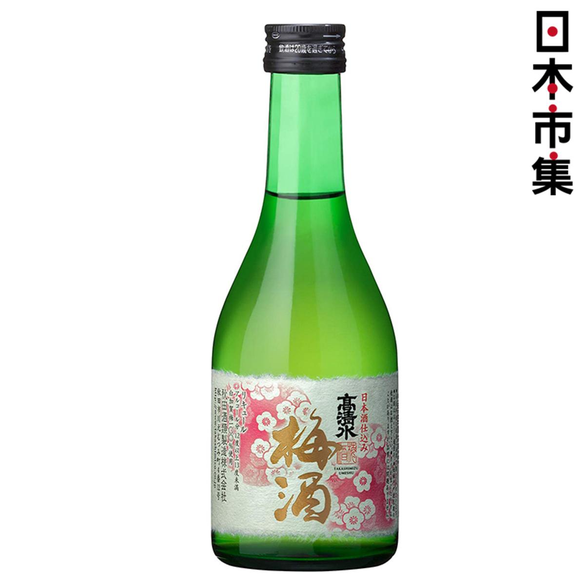 日版 高清水 秋田梅酒 300ml【市集世界 - MOAN】
