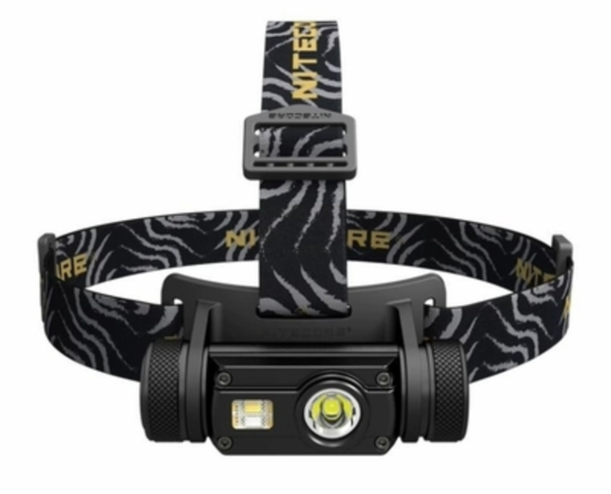 HC65 Headlamp Set NL1834 18650 Battery Multi-output USB Rechargeable HK Warranty