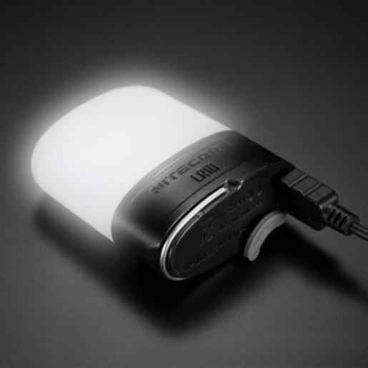港行 LR10 黑色 口袋 露營燈 USB 充電 床頭燈