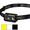 NU25 Black multi-output 610LM USB rechargeable headlamp HK Warranty