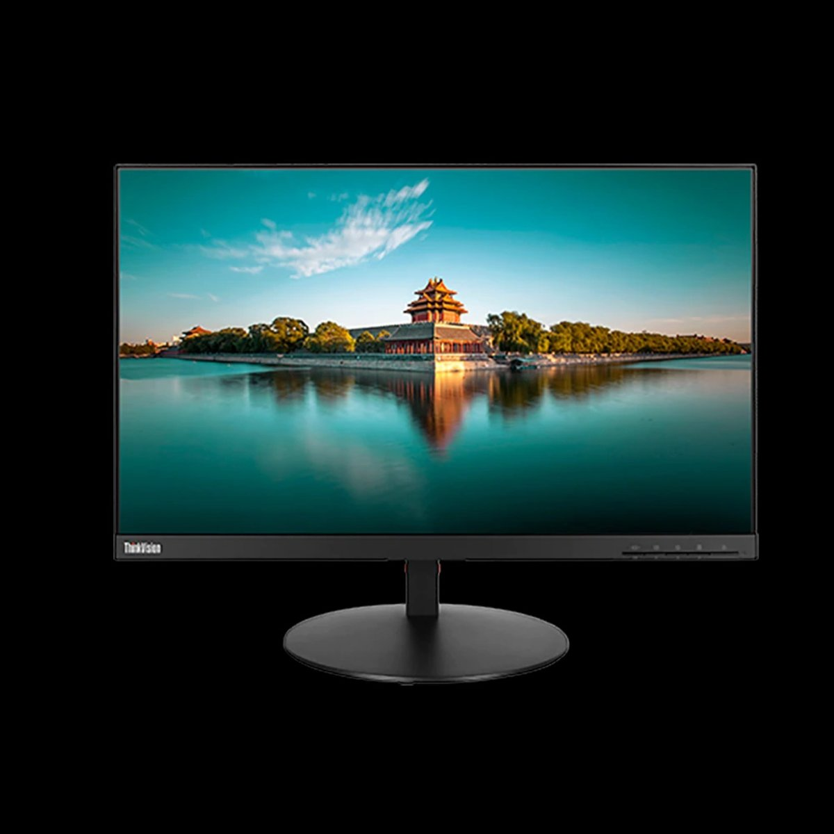 "THINKVISION T24I-10 (61A6MAR3WW / 61CEMAR2WW) 23.8"" FHD VGA+DISPLAYPORT+HDMI, Tilt, swivel, p"