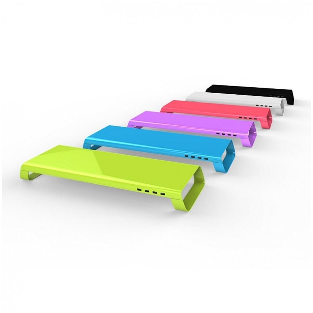 四組 USB 2.0 擴充插槽  (SKY BLUE)