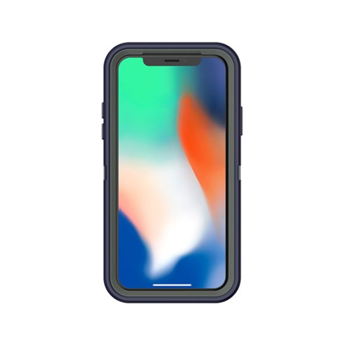 DEFENDER RUGGED PROTECTION CASE FOR IPHONE X / XS - STORMY PEAKS( 77-57027 )
