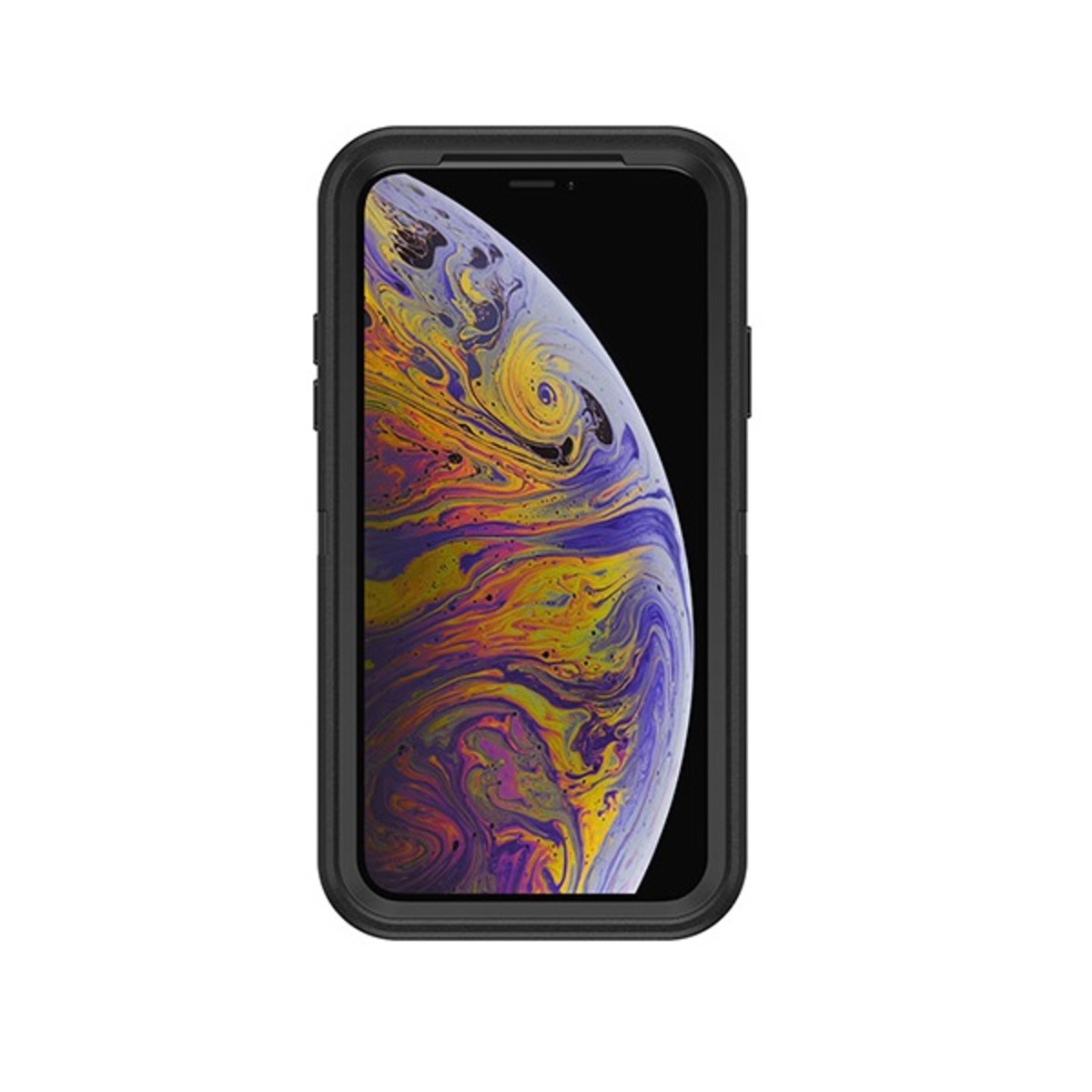 DEFENDER RUGGED 保護套 FOR IPHONE X / XS - BLACK