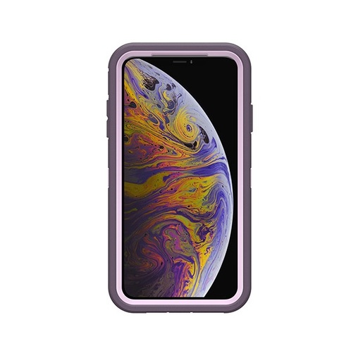 DEFENDER RUGGED PROTECTION FOR IPHONE XS MAX - PURPLE NEBULA ( 77-59972 )