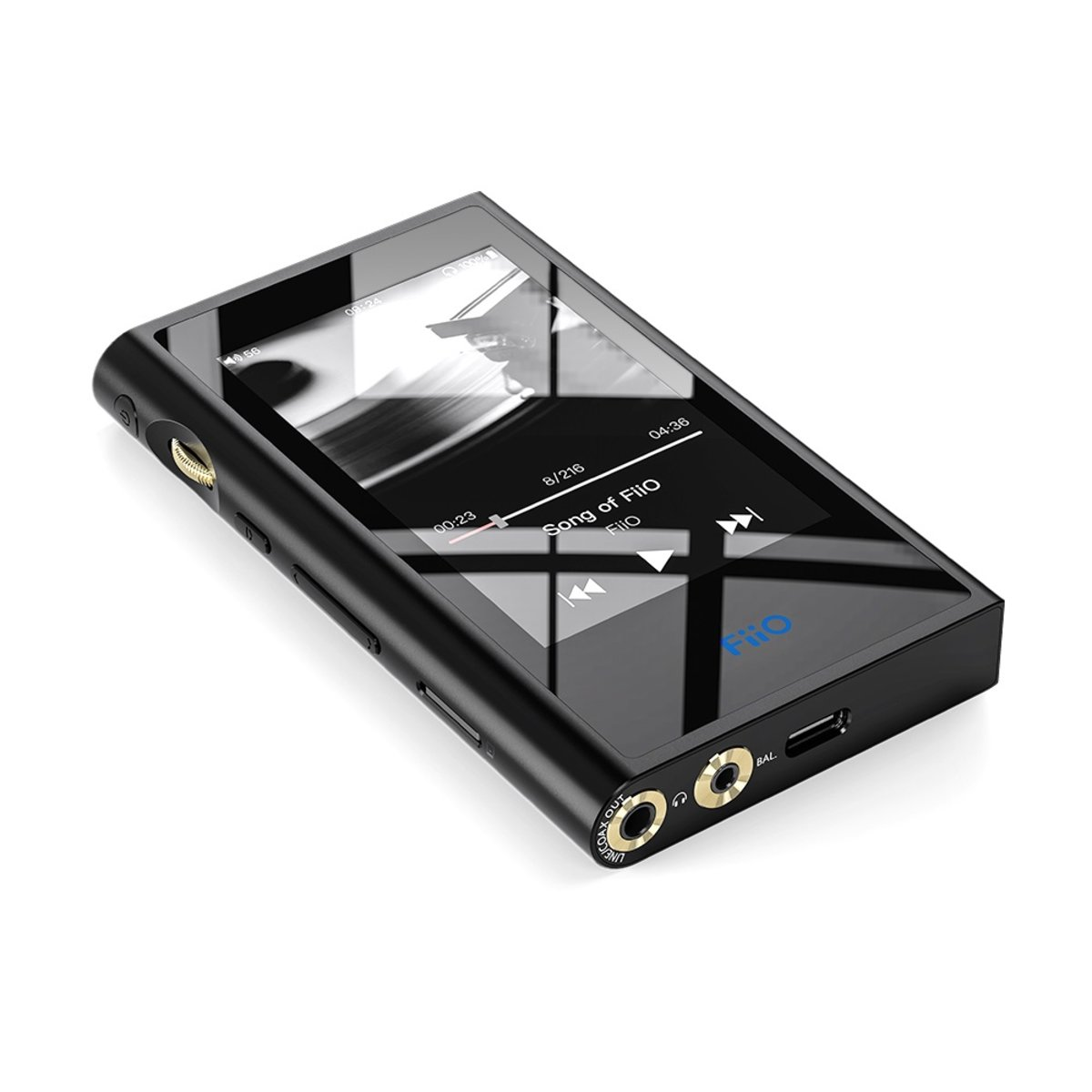 M9 PROTABLE HIGH RESOLUTION MUSIC PLAYER - BLACK