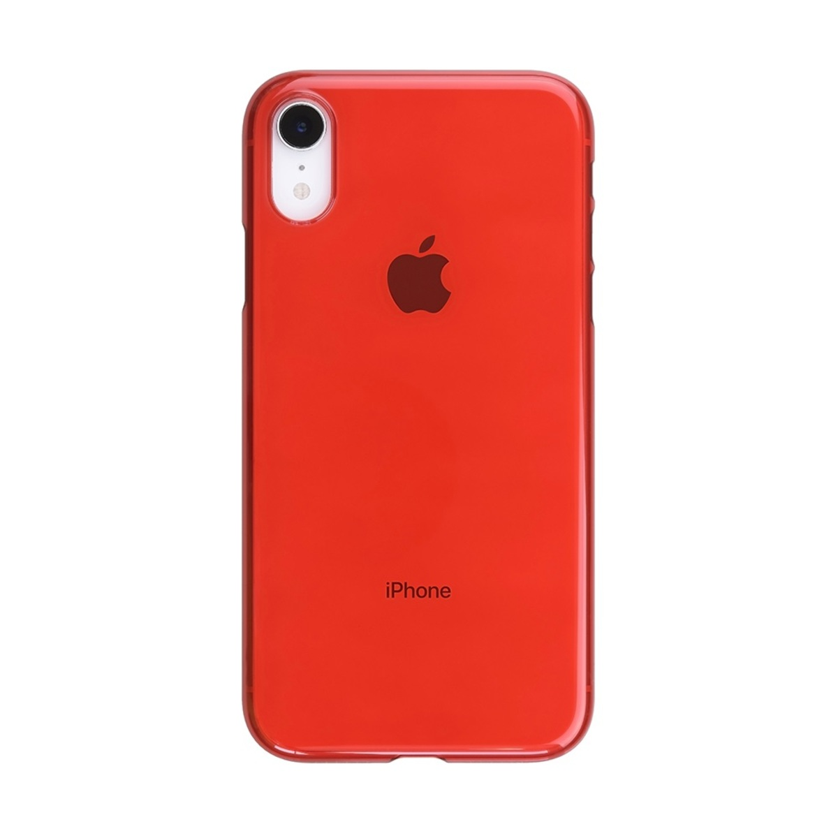 sports shoes 4f1b1 fd196 Power Support | AIR JACKET IPHONE XR CLEAR RED (UPUK-65) | Color ...