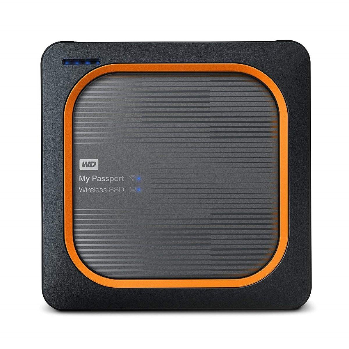 WD WESTEREN DIGITAL 2TB My Passport Wireless SSD External Portable Drive - WiFi USB 3.0