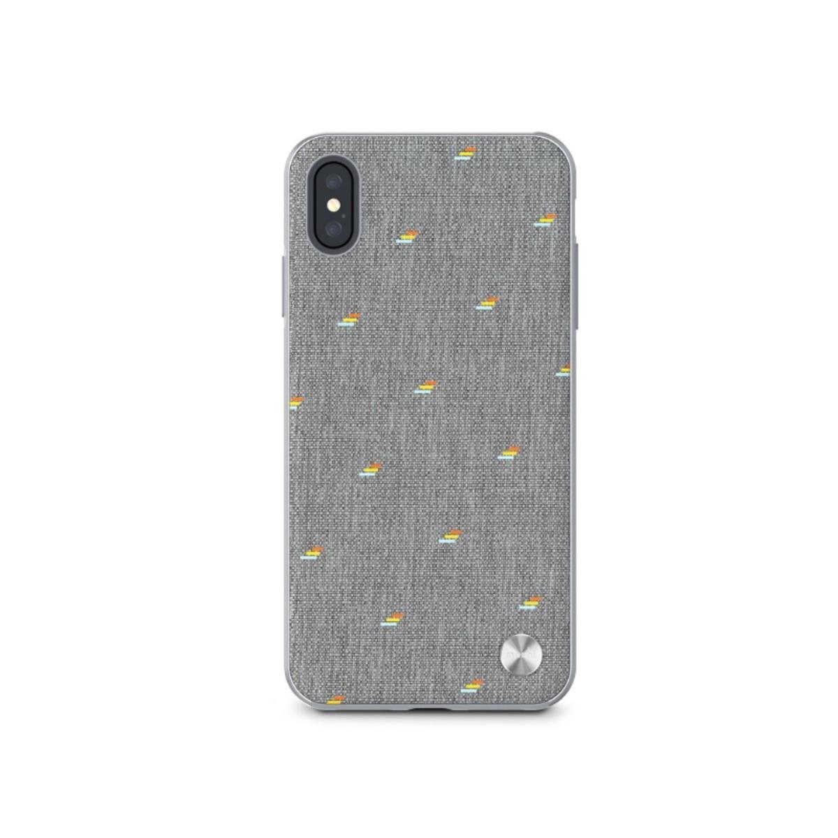 VESTA SLIM HARDSHELL CASE FOR IPHONE XS MAX - GRAY ( 99MO116012 )