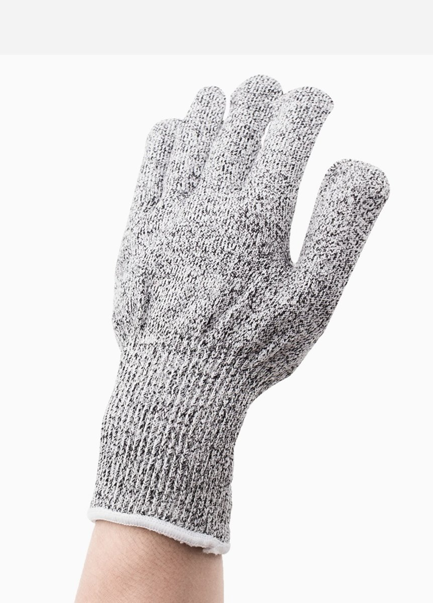 【One Pair】 Cut-resistant Gloves Level 5 Protection Wear-resistant Anti-slip Breathable Kitchen Cut