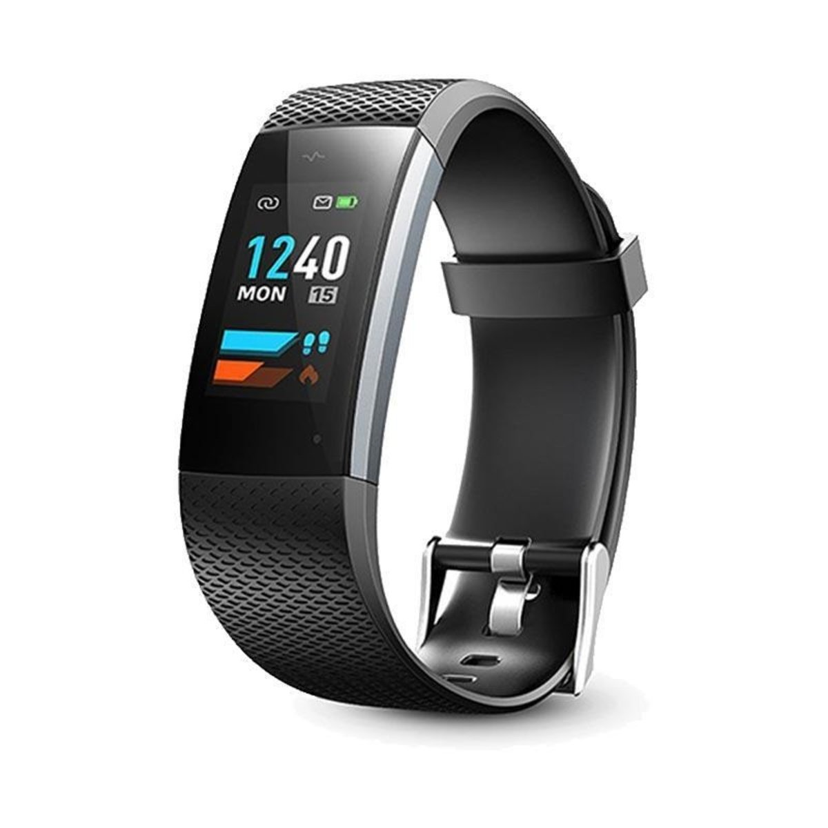 HEART RATE BAND WD06(BLACK&SILVER)