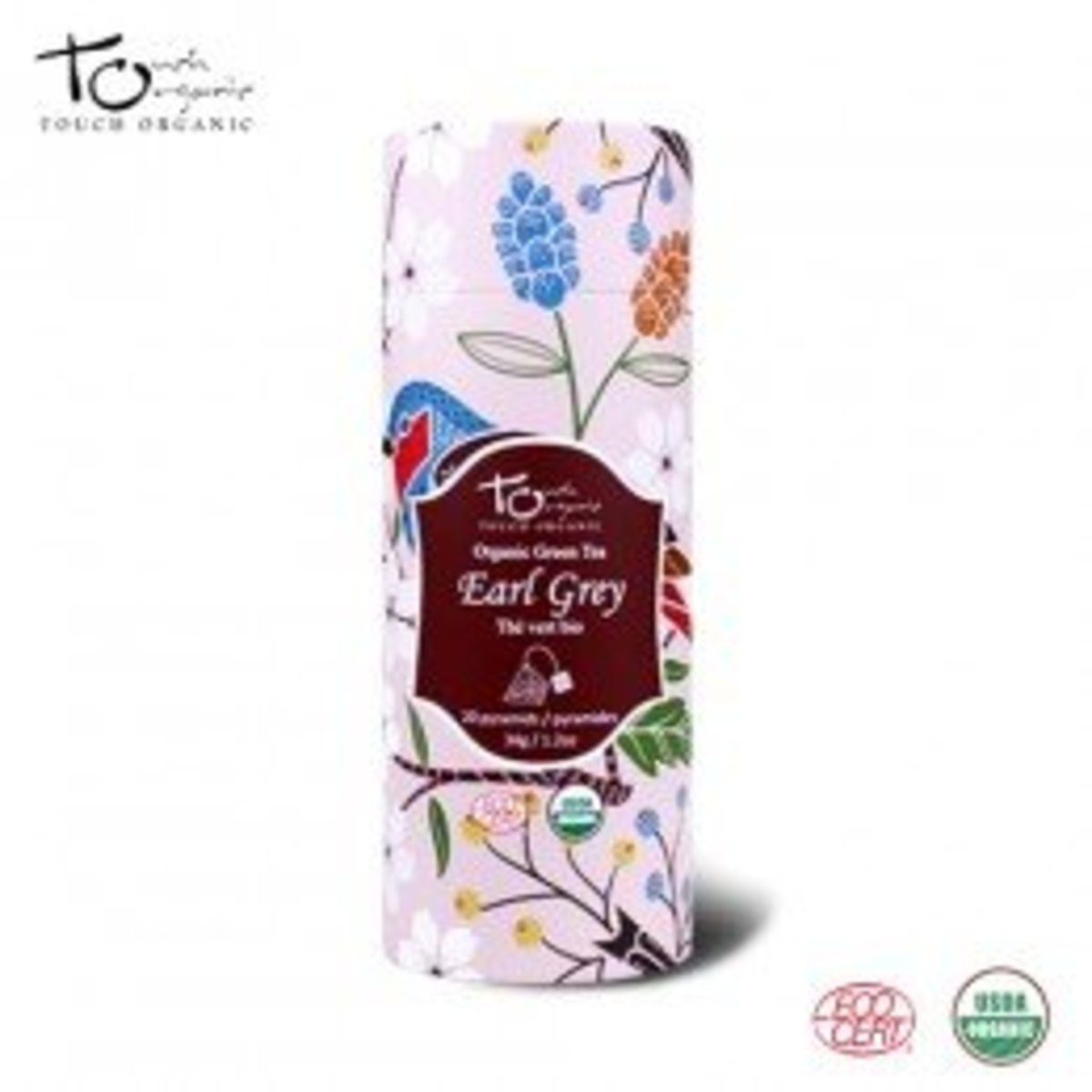 Touch Organic Early Grey Tea(20 Bags)
