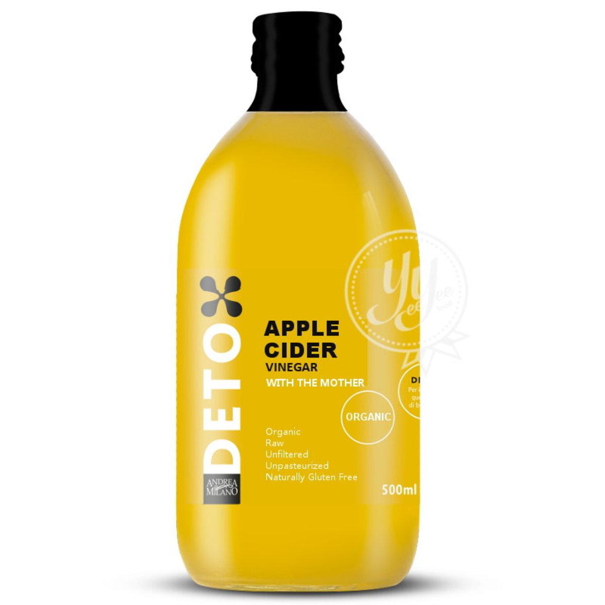 Italian Organic Apple Cider Vinegar With The Mother 500ml