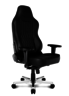 Onyx Deluxe Real Leather Gaming Chair - Black