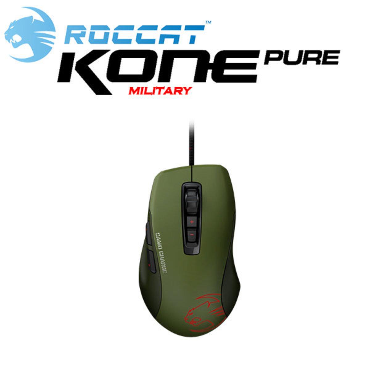 Kone Pure Military 光學滑鼠 - 迷彩衝鋒