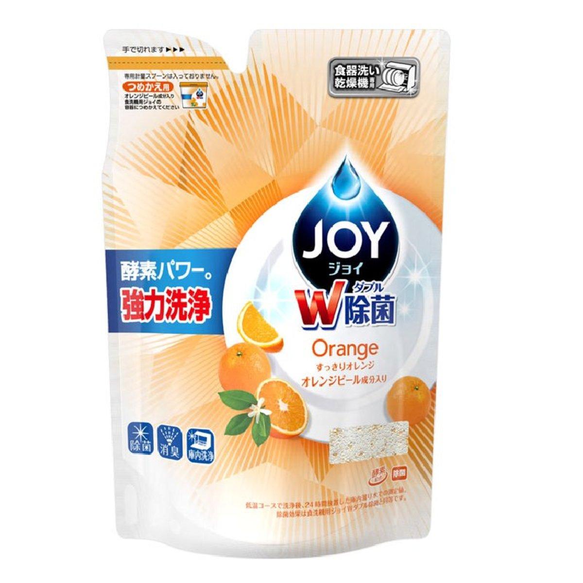 #橘香 W除菌酵素洗碗機專用洗碗粉補充裝(橙) 490g