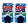 Kobayashi - Toilet aroma cleaning block Star Star Mint120g x2pcs