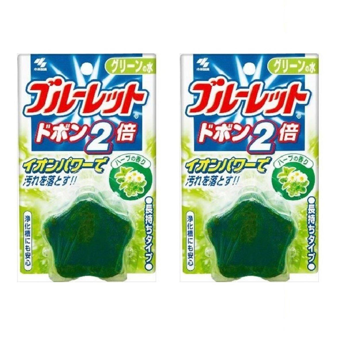 Kobayashi - Toilet aroma cleaning block Star Star Vanilla120g x2pcs