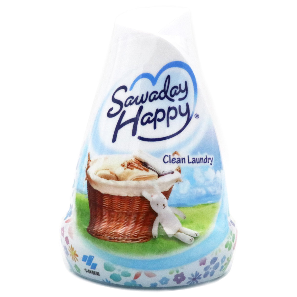 Clean Laundry Sawaday Happy indoor air fragrance (Baby Boy Rabbit Blue)  150g