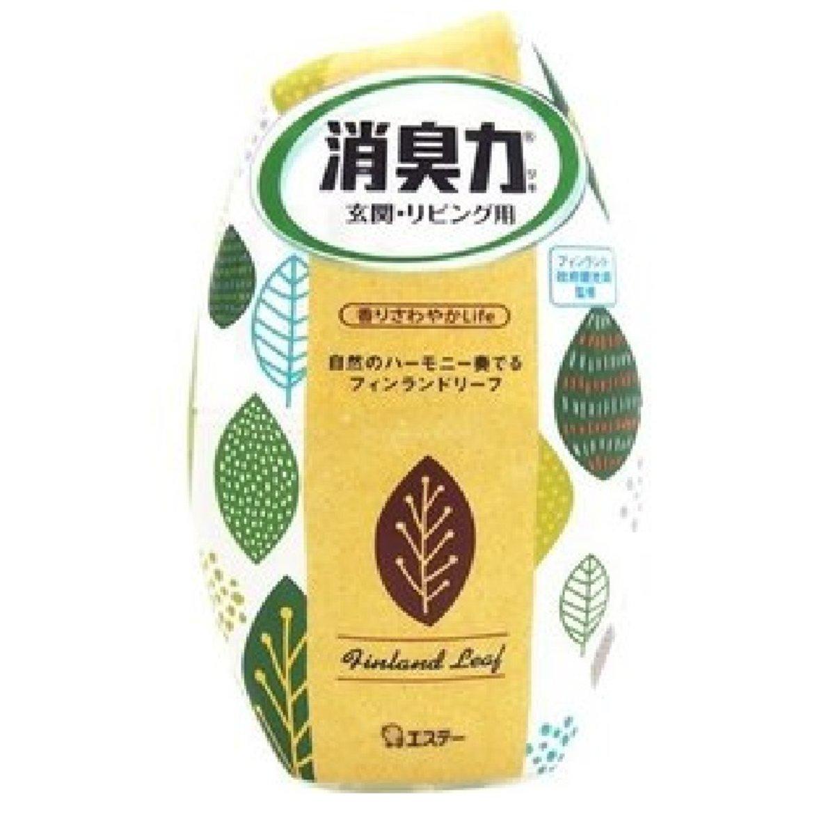 S.T. Corporation Indoor Deodorant (Leaf) #Natural Fragrance 400ml