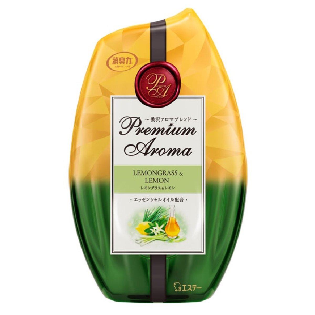 S.T. Corporation Indoor Deodorant (Yellow Green) #Lemongrass & Lemon 400ml